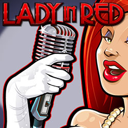 Lady In Red Banner 2