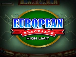 European Blackjack High Limit Screenshot 1