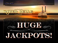 Great Jackpots at River Belle Online Casino