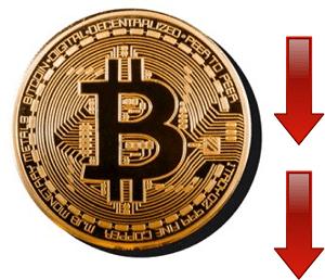 Πτώση στην αξία του Bitcoin