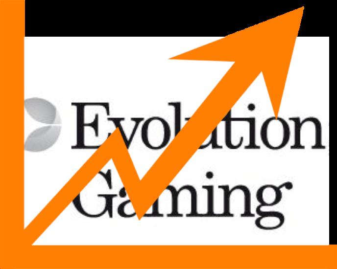 Η αύξηση των εσόδων της Evolution Gaming