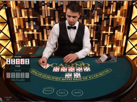 Το Ζωντανό Καζίνο Hold'em από την  Evolution Gaming αποκτά  ένα προοδευτικό τζάκποτ
