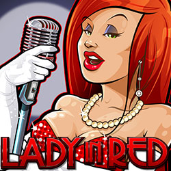 Lady In Red Banner 1