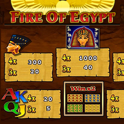 Fire Of Egypt Banner 2