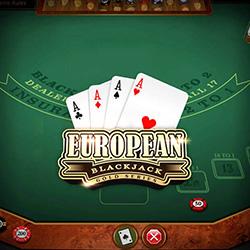 European Blackjack Gold Banner 1