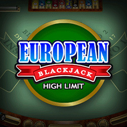 European Blackjack High Limit Banner 1