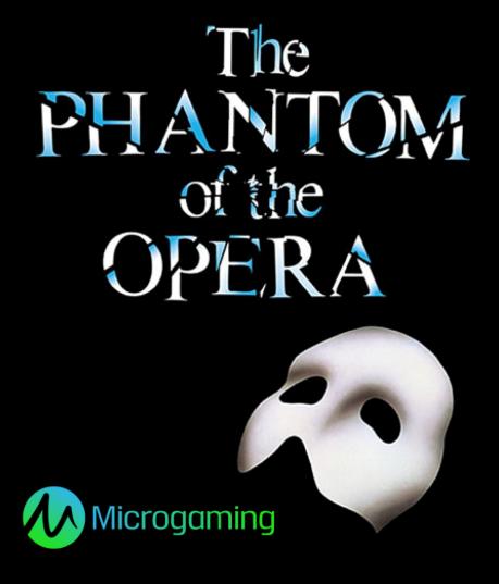 Ο κουλοχέρης με θέμα το Φάντασμα της Όπερας έτοιμος προς διάθεση