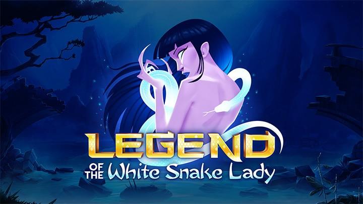White Snake Lady